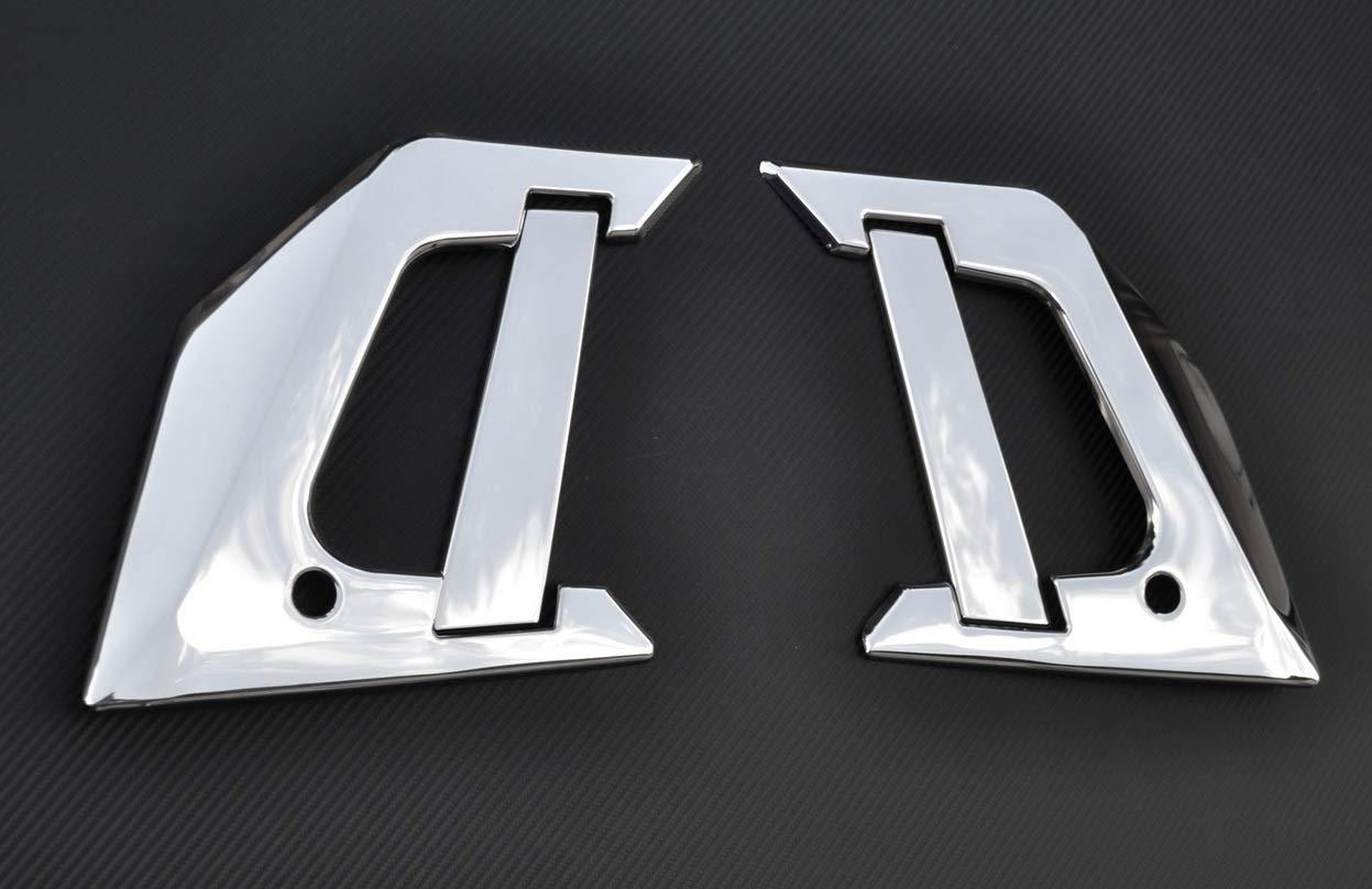 Embellecedor para manija de puerta izquierda y derecha, accesorio de acero pulido con espejo para camiones T: Amazon.es: Coche y moto