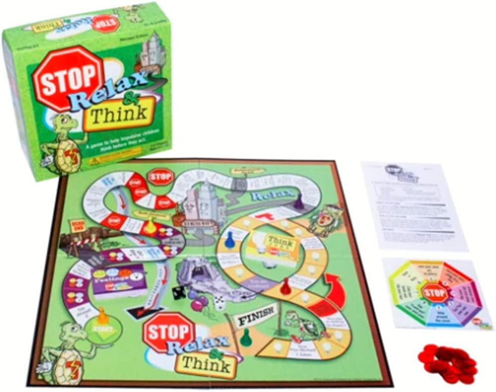 Stop, Relax & Think: A Game to Help Impulsive Children Think Before They Act by Childswork / Childsplay: Amazon.es: Juguetes y juegos