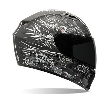 Bell Winger adulto Qualifier calle bicicleta casco de moto, color negro/plata