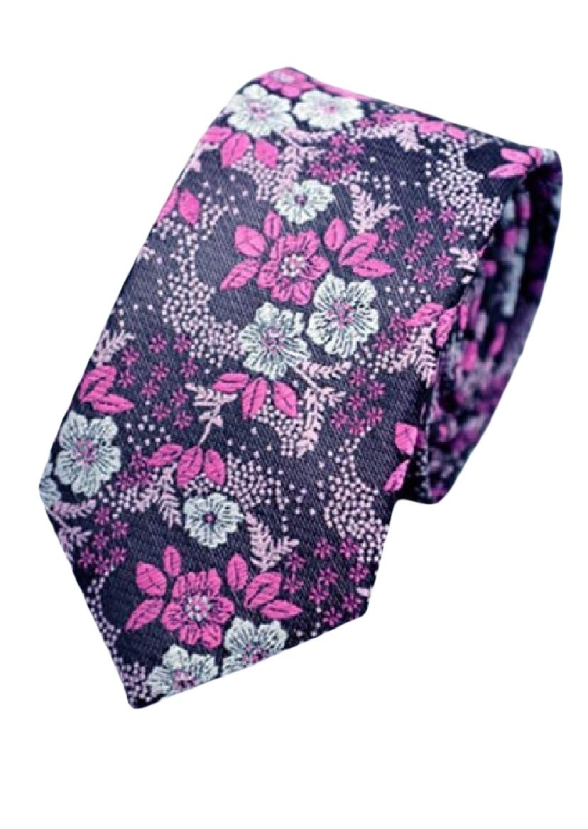 Sayah Mens Wedding Casual Office Bussiness Jacquard Neckties AS1 OS