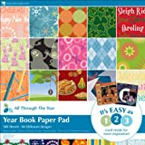 12 Inch x12 Inch Paper Pad - 180PK/All Through The Year