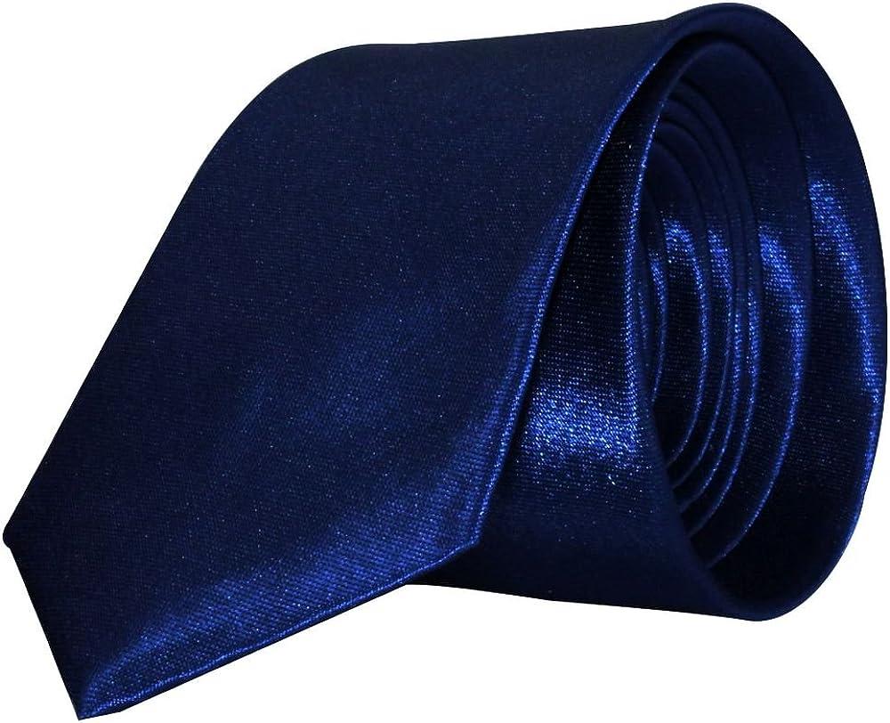 Alex Flittner Designs Corbata Slim para Hombres y Mujeres 5cm ...