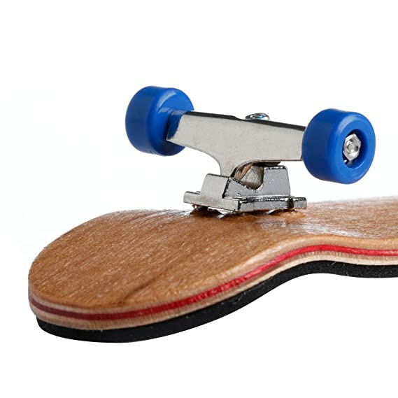 Amazon.com: ONcemoRE Fingerboard Skateboard, 1Pc Wooden ...