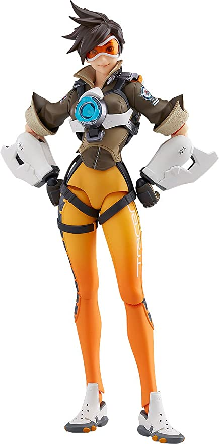 Game Overwatch Tracer Action Figure Figma 352 Collection Toy New in Box
