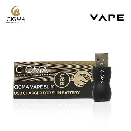 Cigma Vapeador USB para batería slim | Cargador USB | adaptador
