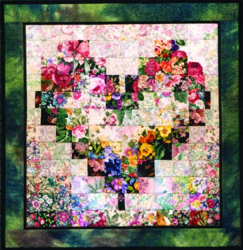 Whims Watercolor Quilt Kits Heart in Bloom Quilting Supplies