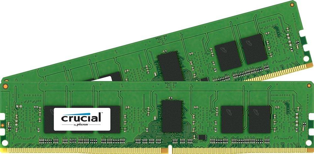 Crucial CT2K4G4RFS8213 Arbeitsspeicher 8GB (288-polig, CL15, 2x 4GB) DDR4-DIMM Kit