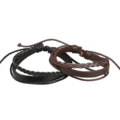 Gyand Braided Leather Bracelet