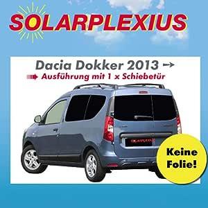 Auto sol proteccion Dacia Dokker con 1 puerta corredera Après 2012 ...