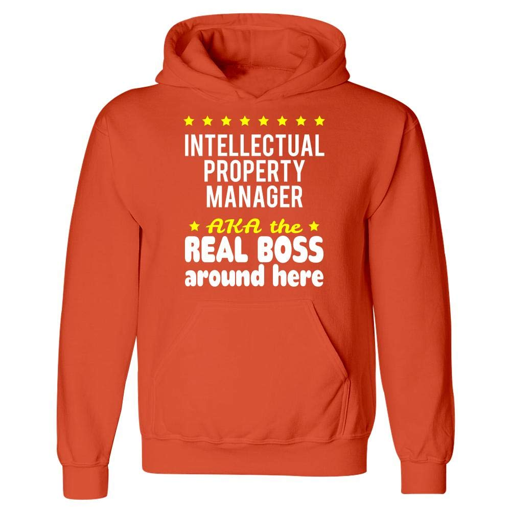 Intellectual Property Manager AKA The Real Boss Around Here Hoodie