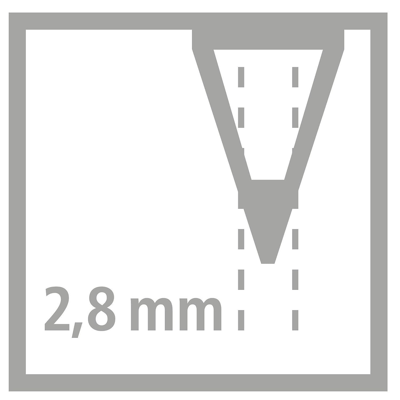 12 unidades Stabilo 1612-3 L/ápices acuarelables