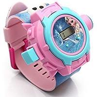bks 24 Images Frozen Projector Watch, (Multicolour)