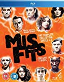 Misfits: Series - Season 1 - 2 - 3 - 4 - 5 Box Set [Blu-ray]