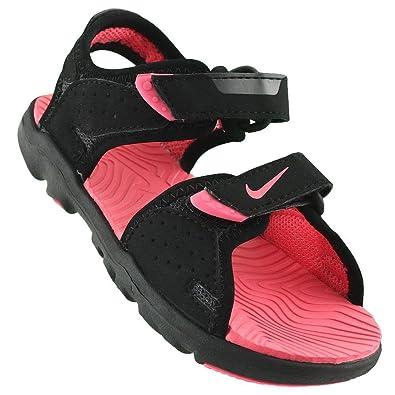 d90dbd5010b3 Nike Girls  Santiam 5 (Td) Athletic Sandals black Size  3  Amazon.co ...