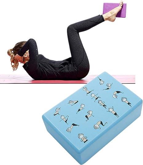 KANKOO Yoga Block Dance Blocks Yoga Support Blocks Yoga Blocks And Bricks Pilates Blocks High Density Foam Block Yoga Set Yoga Block Set