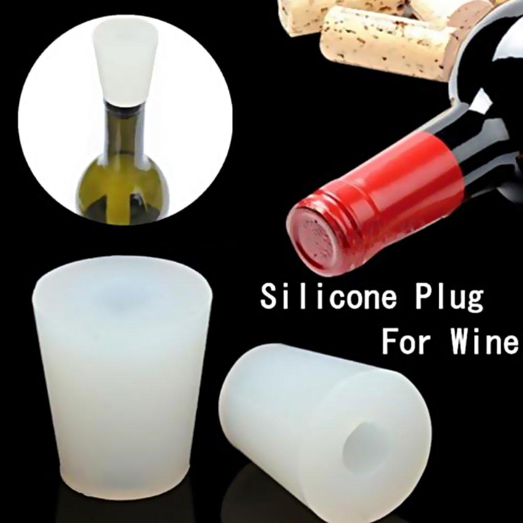 21-25mm Almencla Silicone Stoppers Bouchons De Laboratoire Bouchons Coniques Pour Tube /à