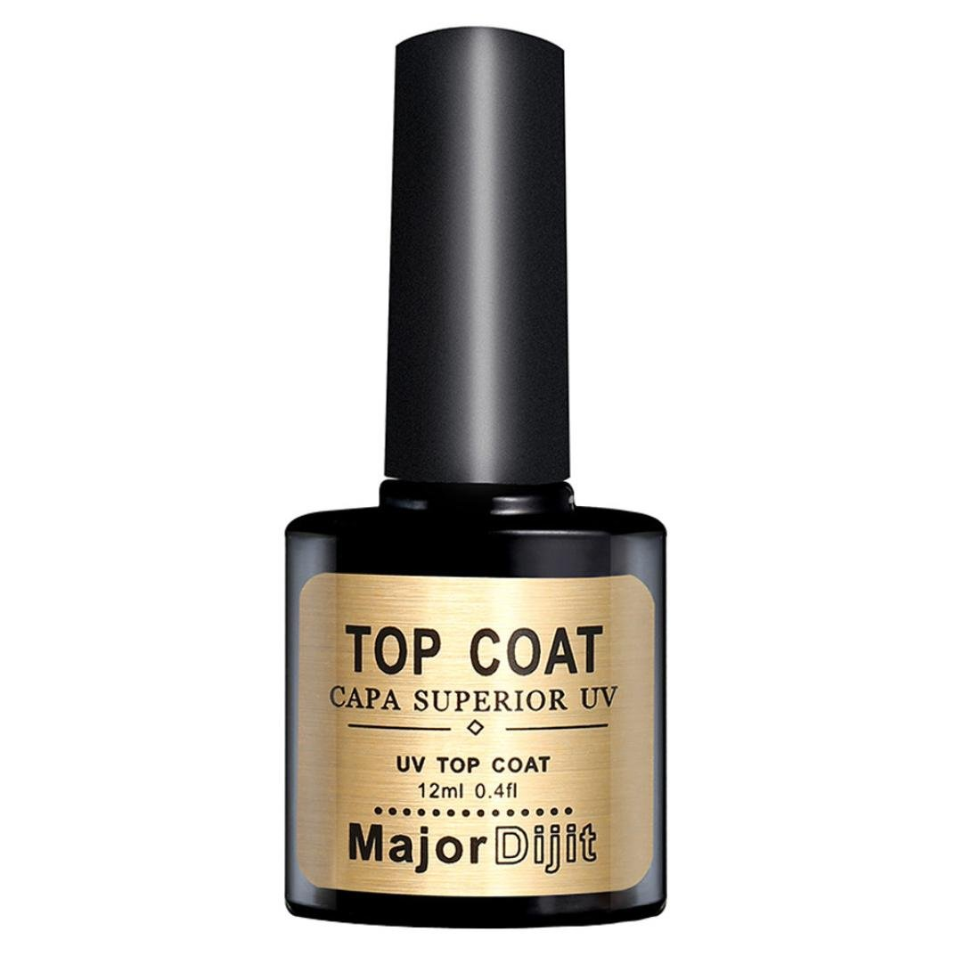 Women's Rubber Velvet Nail Gel Top Coat, Jiayit Rubber Velvet Top Coat Long-lasting Soak-off LED UV Gel Color Hot Nail Gel 12ML (Black)