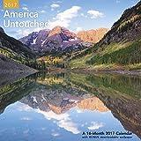 America Untouched Wall Calendar (2017)