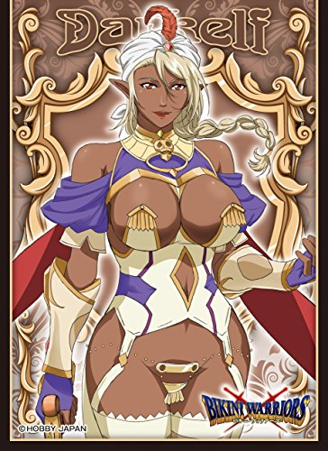 ensky Bikini Warriors Dark Elf Card Game Character Sleeve Collection EN-143 Anime Girl Darkelf from ensky