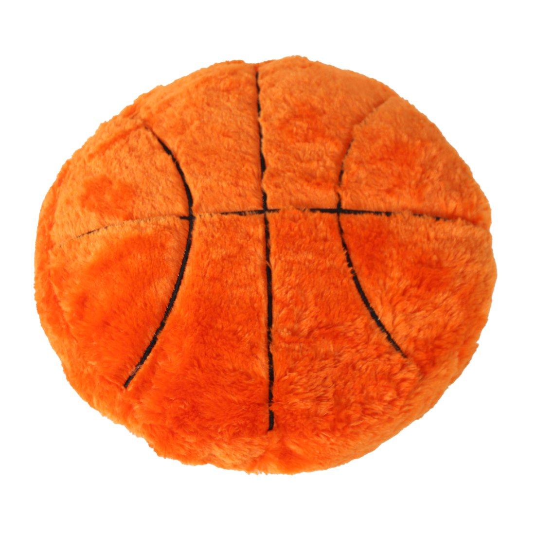 CatchStar Basketball Pillow Fluffy Plush Stuffed Ball Throw Soft Durable Sports Toy Gift for Kids Room Decoration Winter Style