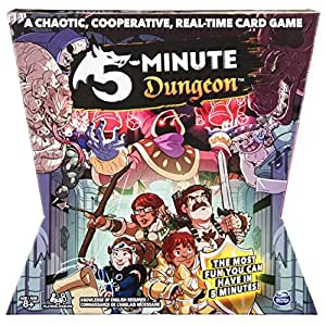 Spin Master Games 5-Minute Dungeon Fun Card Game for Kids and Adults