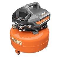 RIDGID 6 Gal. Portable Electric Pancake Air Compressor Deals