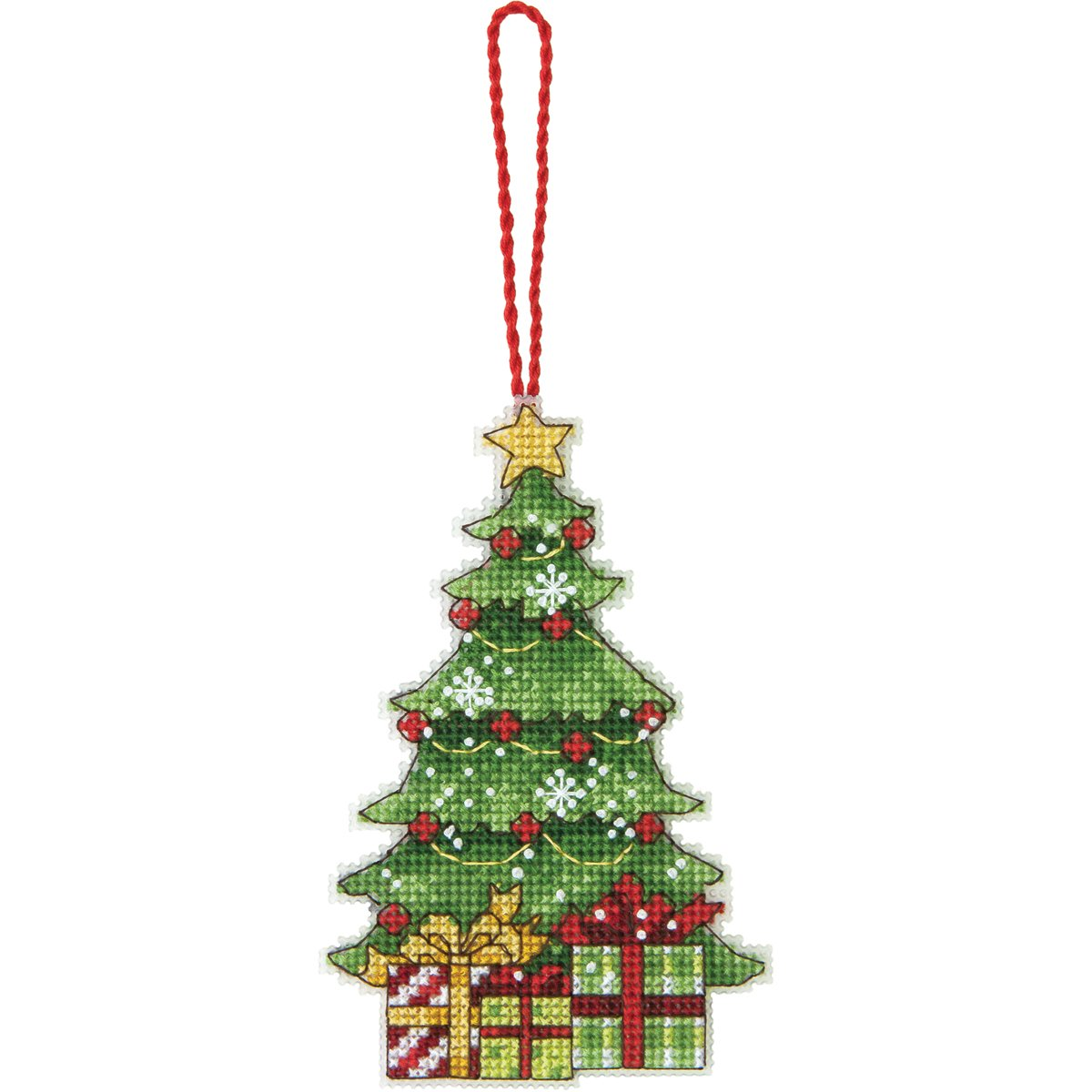 amazoncom dimensions counted cross stitch tree ornament arts crafts sewing - Christmas Tree Ornament