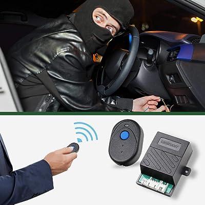 Upgrade Car Immobilizer Security Alarm System Electronic Hidden Lock Circuit Cut Off Anti Hijacking Theft Security Universal: Car Electronics