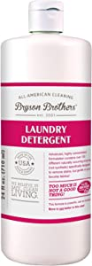 Bryson Brothers 24 Fl Oz Laundry Detergent - Highly Concentrated, Scent Free Formula Gently Removes Grass, Grease, and Grime from Fabrics