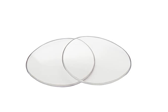 f5db66333a Amazon.com  SFx Replacement Sunglass Lenses fits Oliver Peoples Strummer  1004S 63mm wide (Polycarbonate Clear Hardcoat Pair-Regular)  Clothing