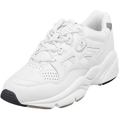 Propet Women's W2034 Stability Walker Sneaker, White, 8.5 X (US Women's 8.5 EE) | Walking