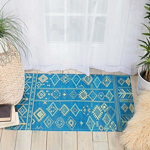 Nourison MAD05 Madera Modern Traditional Area Rug, 2'3