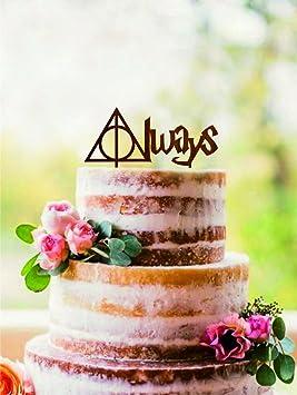 Always Cake Topper Harry Potter Wedding Cake Topper Harry Potter