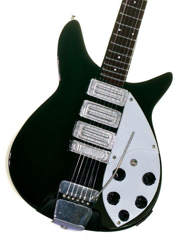 Réplica de guitarra en miniatura - minirregalo para los amantes de la música., Beatles-Lennon: Amazon.es: Instrumentos musicales