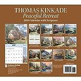 Kyпить Thomas Kinkade Special Collector's Edition with Scripture 2018 Deluxe Wall Calen: Peaceful Retreat на Amazon.com