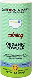 product image for California Baby Non-Talc Powder, Canister - Calming, 2.5-Ounce (Pack of 4)