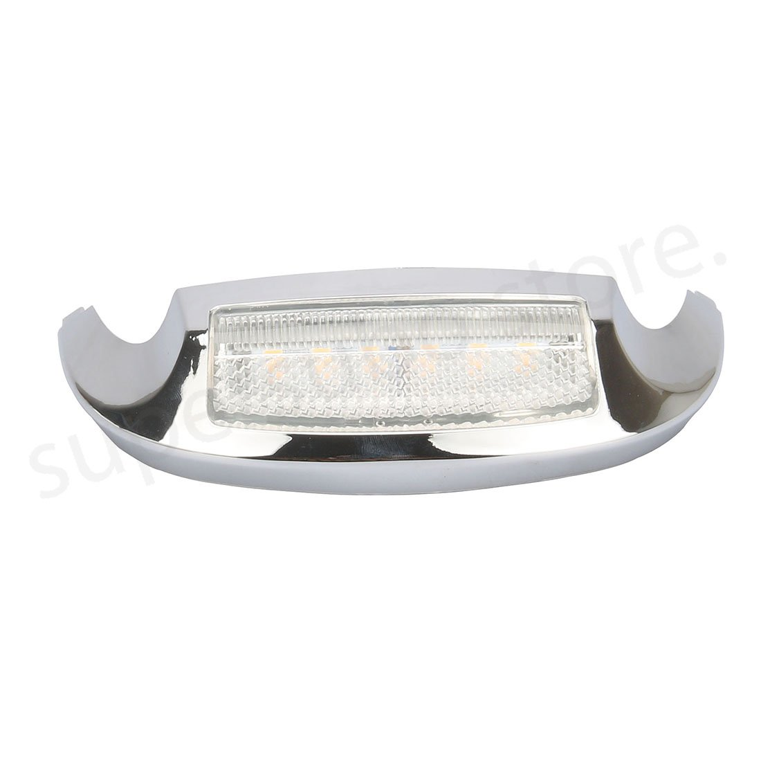Motorcycle street glide fender tip light CLEAR Front LED Light For Harley Electra Glide Ultra Limited 2009-2019