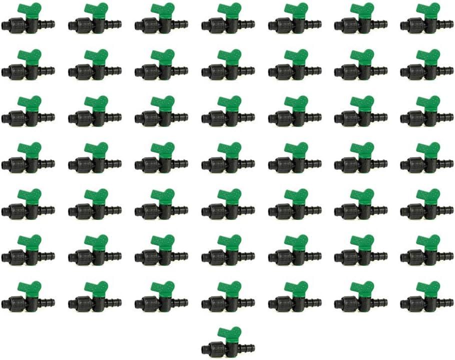 Llave de Paso Goteo 16mm a Cinta de riego por Goteo 16mm (Pack 50 uds)