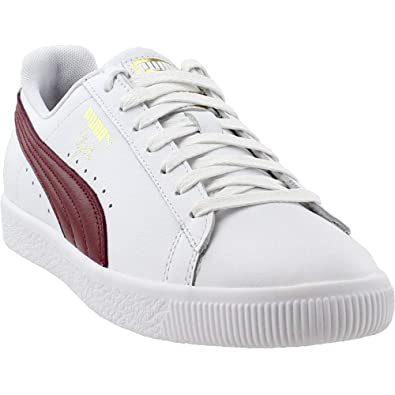 brand new 3a0ab b2d62 PUMA Mens Clyde Core Foil Casual Athletic & Sneakers White