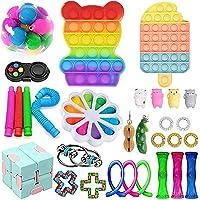 Fidget Toy Set, Fidget Blokken Fidget Pack zintuiglijke verlicht stress angst voor kinderen volwassenen, Fidget Pack met…
