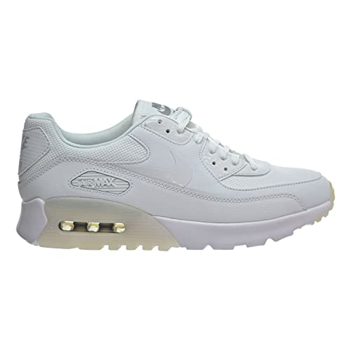 new concept 22ca9 7fbba Nike Women s Air Max 90 Ultra Essential Running Shoe White Metallic Silver  11 B(M) US  Amazon.in  Shoes   Handbags
