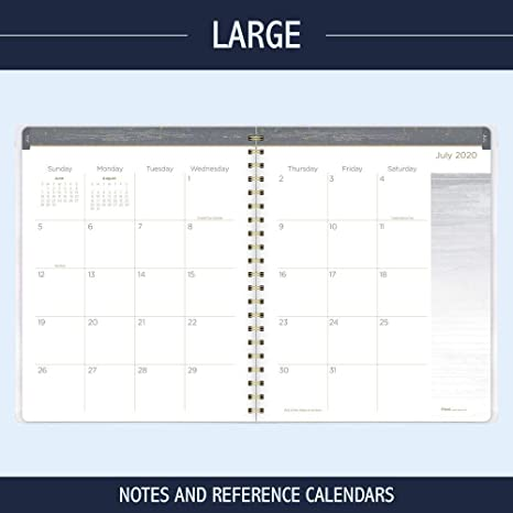 Academic Planner 2020-2021 8-1//2 x 11 Modern Chic Lines Large 1414M-905A Mead Student Weekly /& Monthly Planner