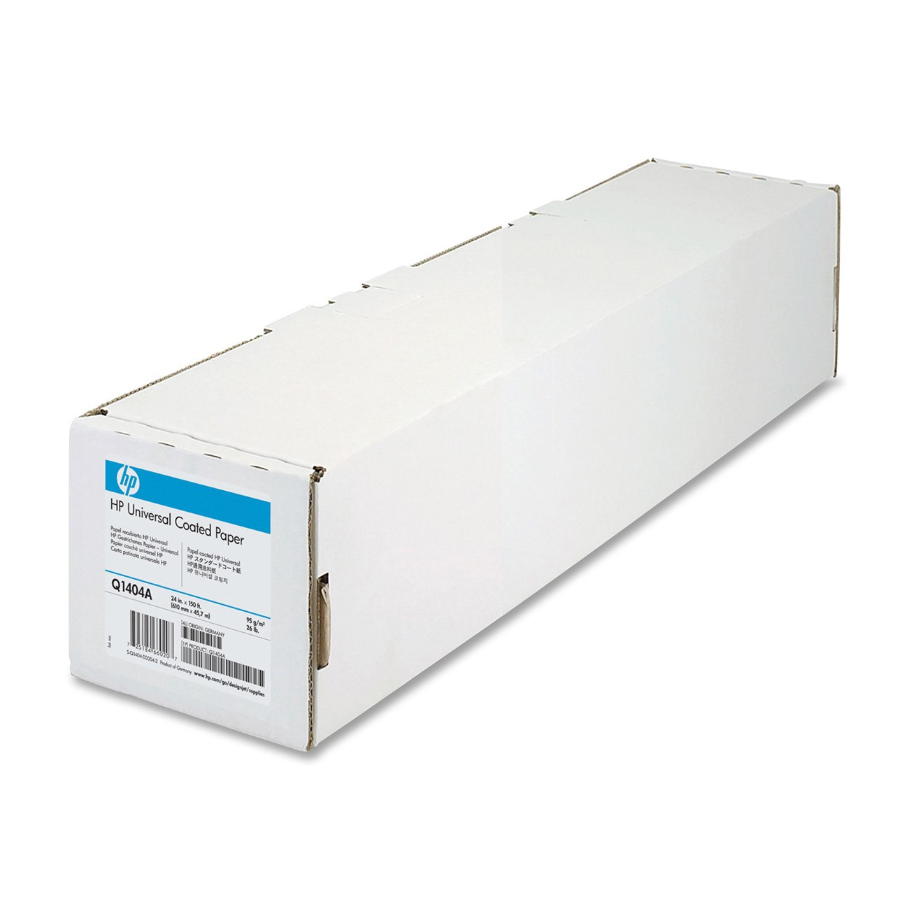 HP Universal Coated Paper (24 Inches x 150 Feet Roll) by Hewlett Packard