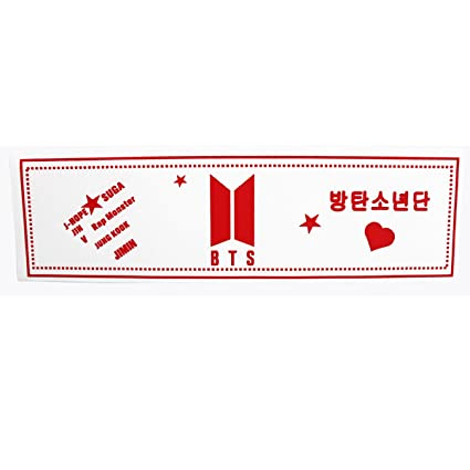 Kpop Bts Love Yourself Fabric Banner Suga V World Tour Concert Airport Support Bangtan Boys Hang Up Poster Beads & Jewelry Making Jewelry Findings & Components