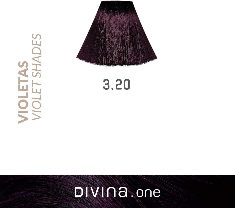 Eva Professional Hair Care - Tinte Profesional Divina, N.3.20 ...