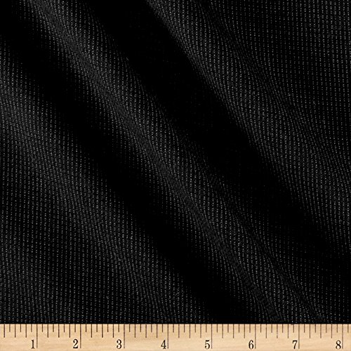 Suiting Weave (Dot Weave Super 110 Suiting Black/Gray Fabric By The Yard)