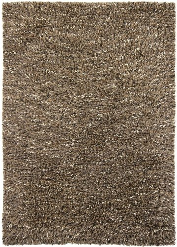 "Chandra Estilo EST18501 739;9""x1039;6"" Brown Shag Rug"