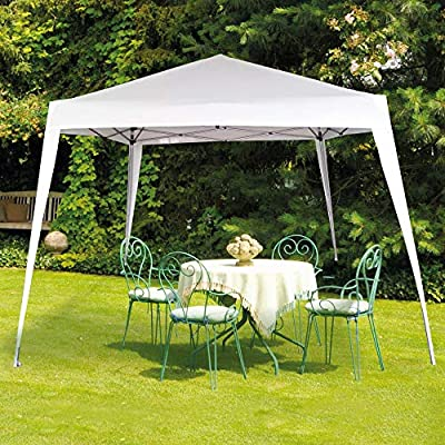 Aktive 62187 - Cenador plegable blanco poliéster UV50 300 x 300 x 240 cm Beach: Amazon.es: Jardín