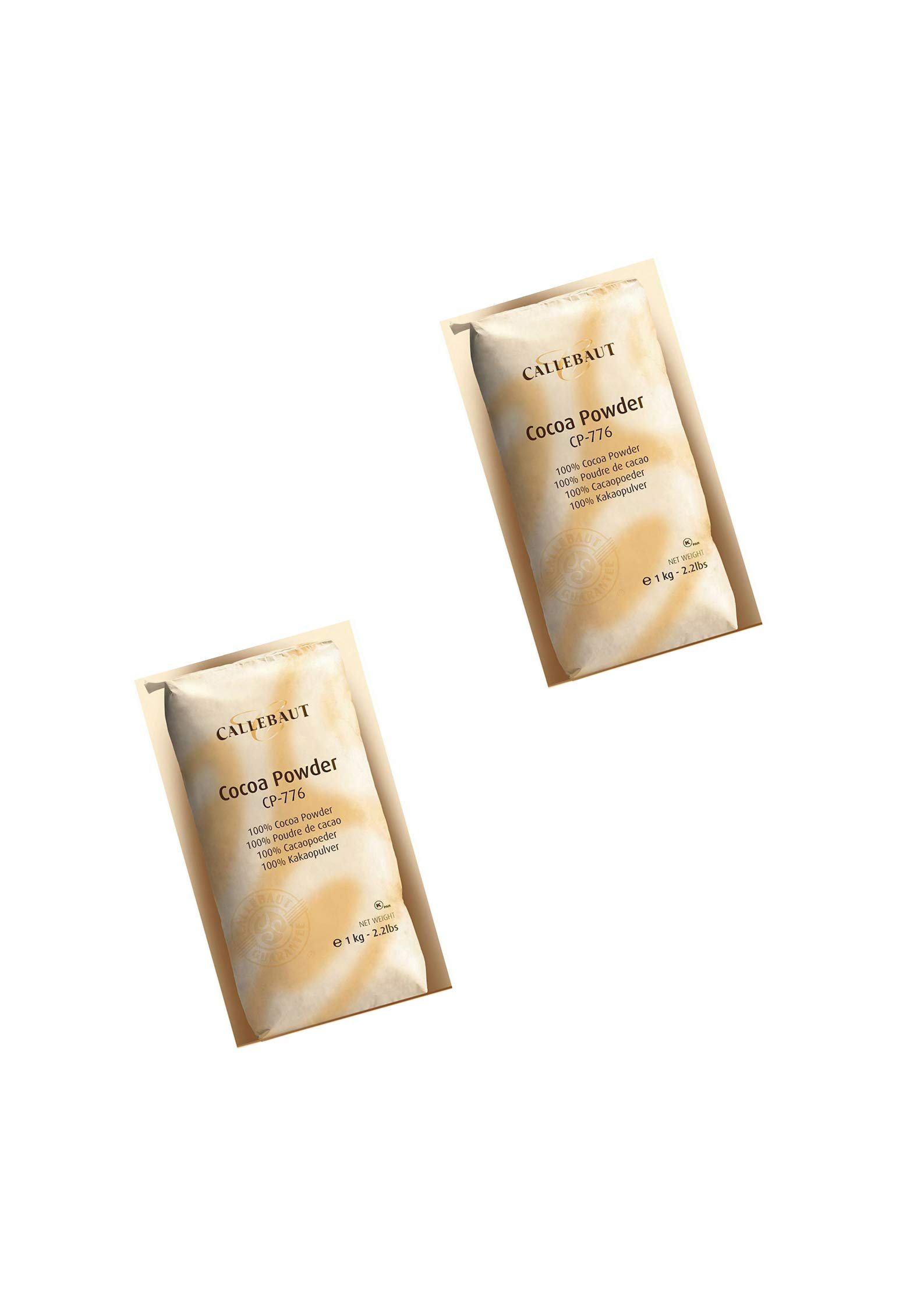 Callebaut Baking Cocoa Powder 2.2lb. bag in Cook's Illustrated (2pack)