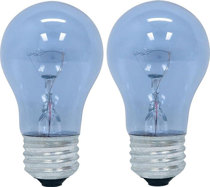 GE Lighting 48706 40-Watt Reveal A15 Appliance Bulb, 6 Pack